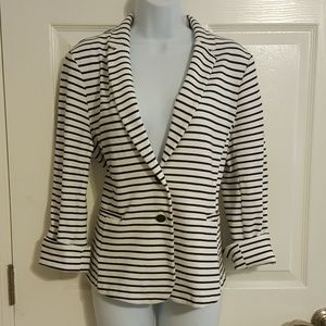 Old Navy Striped Blazer